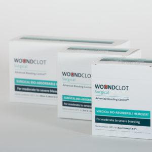 Nowej generacji opatrunki Woundclot