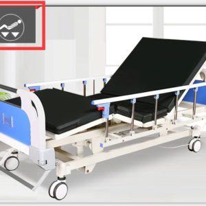 Łóżka szpitalne manualne